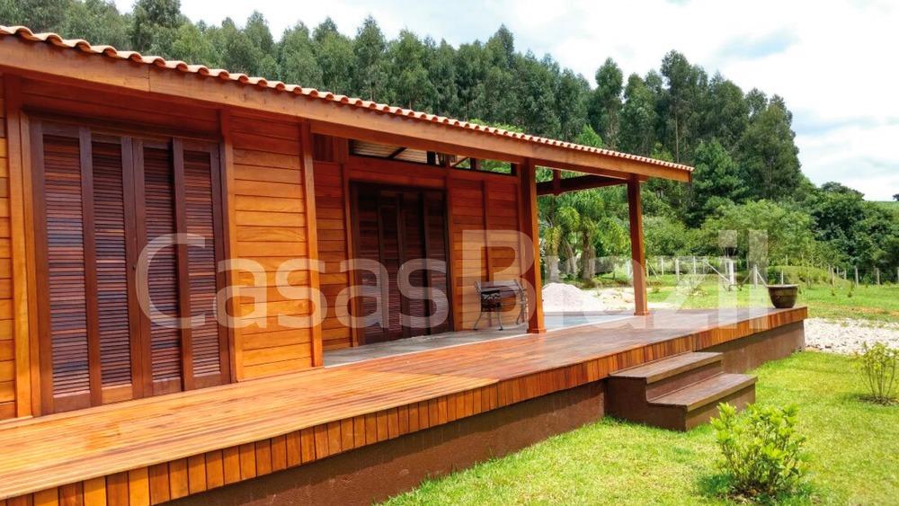 Casa de Madeira de Lei - Casas Brazil