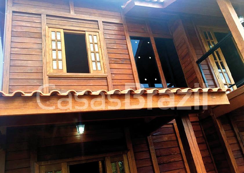 casa pre fabricada de madeira tulipa
