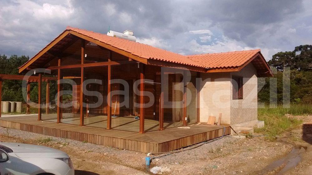 Casa Ecológica - Casas Brazil