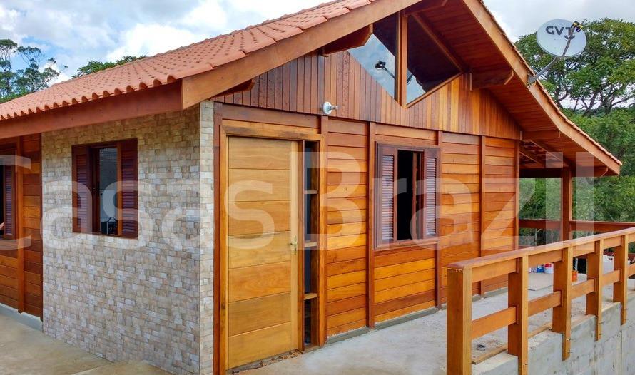 Casa de Madeira Begônia