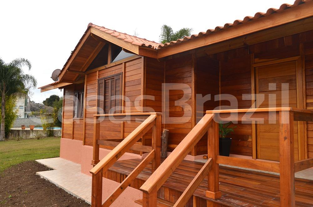 Casa Pré fabrica de madeira - Casas Brazil