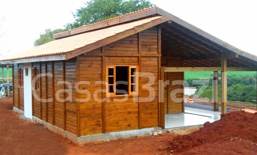 Casa pre fabrica de madeira - Casa Para