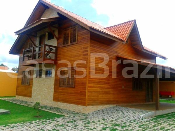 Casa Madeira de Lei - Casas Brazil
