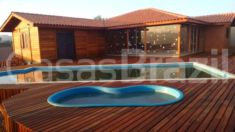 Casa de Madeira Pré Fabricada Eco IV