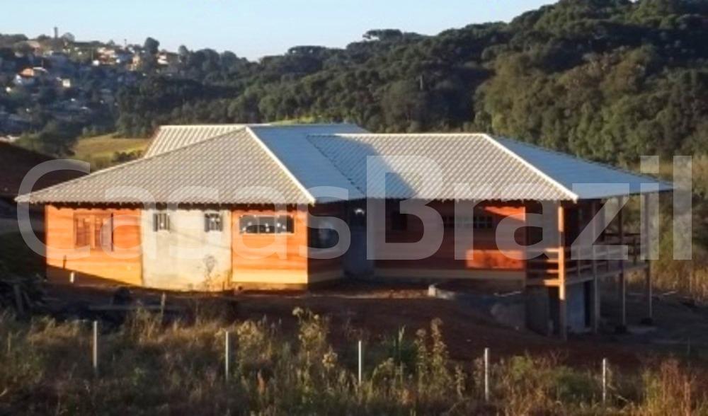 Casa em Madeira Pré Fabricada Bom Pastor